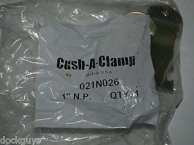 "BRAND NEW CUSH-A-CLAMP 1"" 021N026 (QTY:2)"
