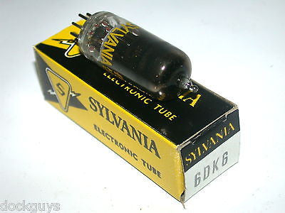 BRAND NEW IN BOX SYLVANIA ELECTRONIC TUBE 6DK6 (3 AVAILABLE)