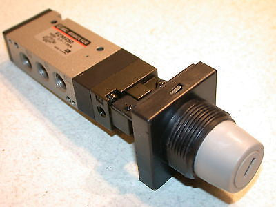 NEW SMC MECHANICAL SWITCH 5 PORT AIR VALVE VZM450 -FREE SHIPPING