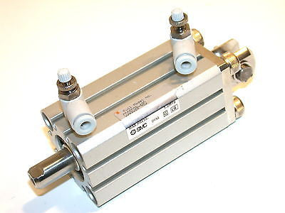 "UP TO 3 SMC COMPACT 1 1/2"" AIR PNEUMATIC CYLINDER CDQSD20-40D FREE SHIPPING"