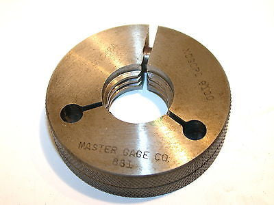 "MASTER GAGE CO. NO GO THREAD RING GAGE 1""-20 NEF-2A -FREE SHIPPING"