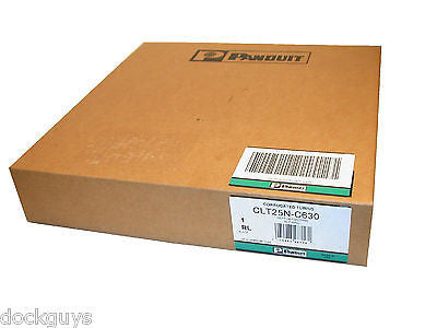 "NEW Panduit CLT25N-C630 1/4"" Slit Wall Corrugated Tubing 100 Feet (4 AVAIL)"