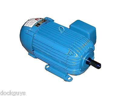 REBUILT 3.6 HP DEMAG 3 PHASE AC MOTOR 1715 RPM MODEL 2615148