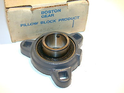 "UP TO 3 NEW BOSTON GEAR 1"" BORE MOUNTED PILLOW BLOCKS 64565"