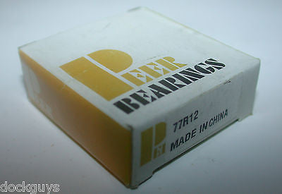 BRAND NEW IN BOX PEER BEARINGS 77R12 - FREE SHIPPING  (8 AVAILABLE)