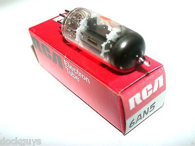 BRAND NEW IN BOX RCA ELECTRONIC TUBE 6AN5 (6 AVAILABLE)