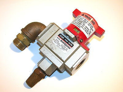 "UP TO 8 SMC MANUAL 3 WAY SAFETY AIR VALVES NVHS5500 3/4"" NPT"