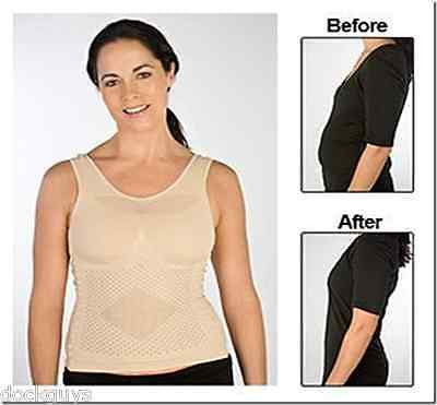 Women's Slimming Undershirt Vest Shaper Large