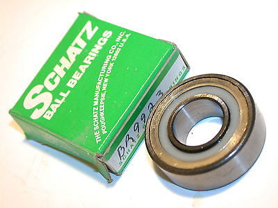 "UP TO 8 NEW SCHATZ COMMERCIAL RADIAL DOUBLE SEAL BEARING 5/8"" ID 1 3/8""OD BR9923"