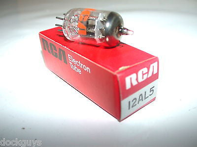 BRAND NEW IN BOX RCA ELECTRONIC TUBE 12AL5 (7 AVAILABLE)