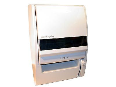 24 New Kimberly-Clark Pearl White Window Convert-A-Matic Towel Dispenser 0971700