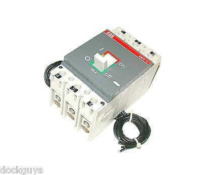 ABB 100 AMP 3 POLE CIRCUIT BREAKER 400 VAC MODEL SACE-S3