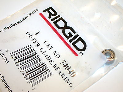 UP TO 2 NEW RIDGID PORTABLE BANDSAW OUTER BEARING GUIDE 74040 FREE SHIPPING
