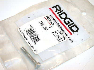 NEW RIDGID PORTABLE BANDSAW E5603 SCREW 87445  FREE SHIPPING