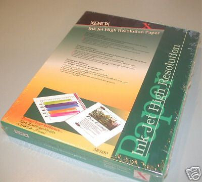 "UP TO 12 NEW XEROX HIGH RESOLUTION INK JET PAPER 8.5"" X 11"""