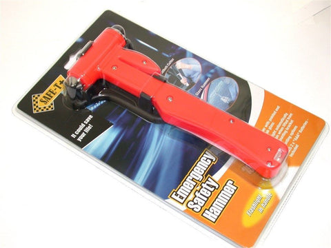 NEW SUPEREX EMERGENCY SAFETY HAMMER/FLASHLIGHT/SEATBELT CUTTER 21-919