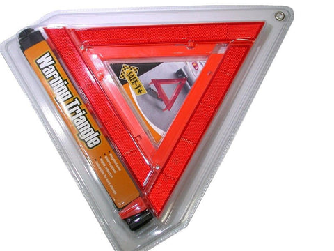 NEW Superex 21-366 SAFETO GO Orange Roadside Warning Triangle