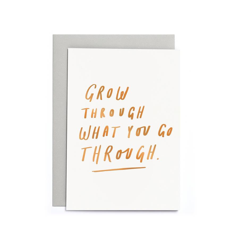 Grow Through Card