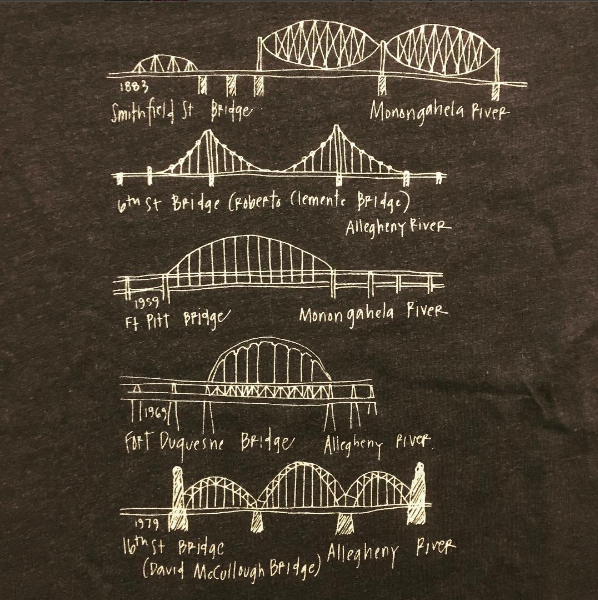 Pittsburgh Bridges T-Shirt