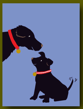 Father's Day Dogs Card