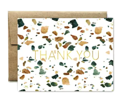 Emerald Terasso Thank You Boxed Cards
