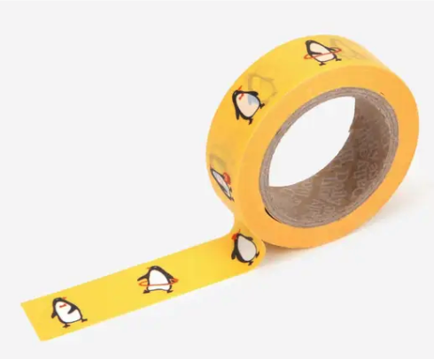 Penguin Washi Tape