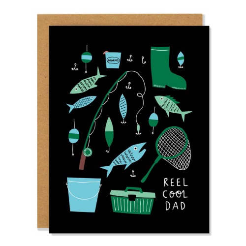 Reel Cool Dad Father's Day Card