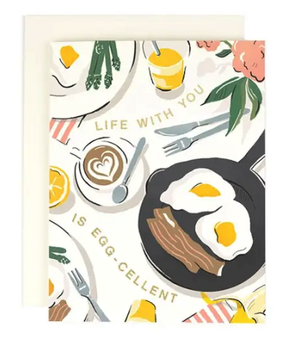 Life with You is Eggcellent Card