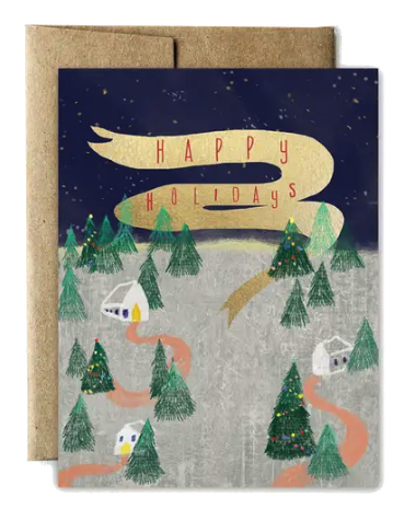 Happy Little Trees Holiday Boxed Cards