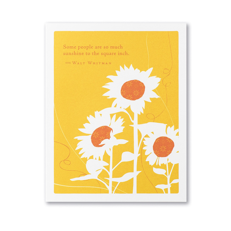 So Much Sunshine Card