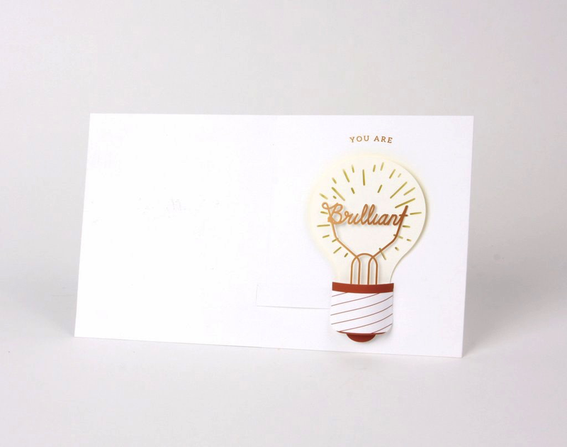 Lightbulb Pop-Up Card
