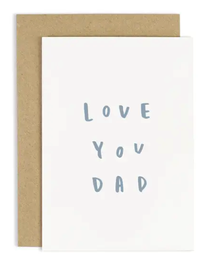 Love You Dad Father's Day Card