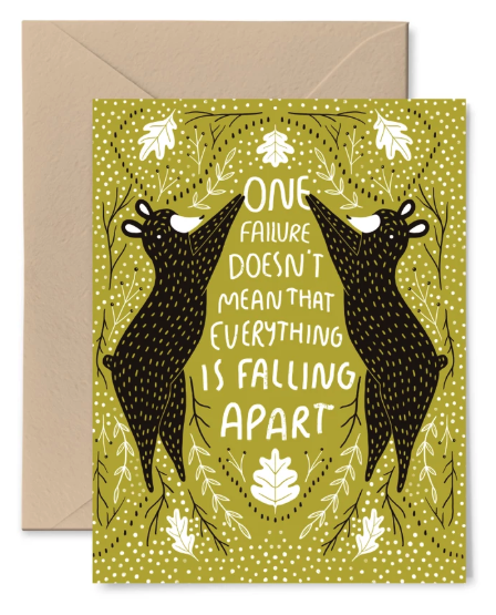 Failure Bear Card