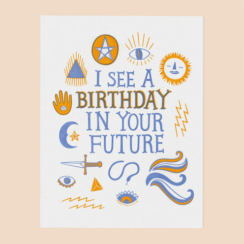 Ouija Birthday Card