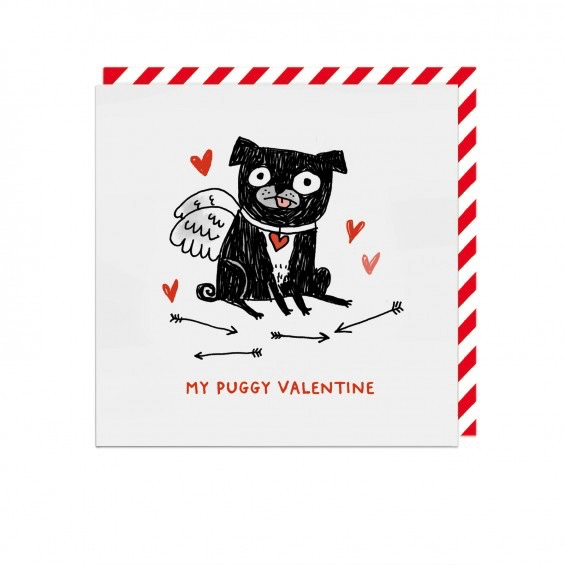 My Puggy Valentine Card