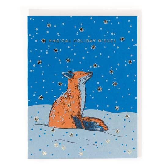 Magical Fox Card: Box Set of 6