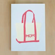 Mom Bag Card
