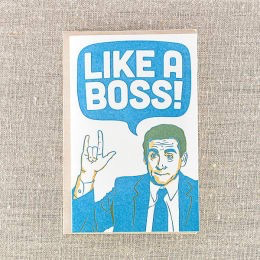 Like a Boss Card