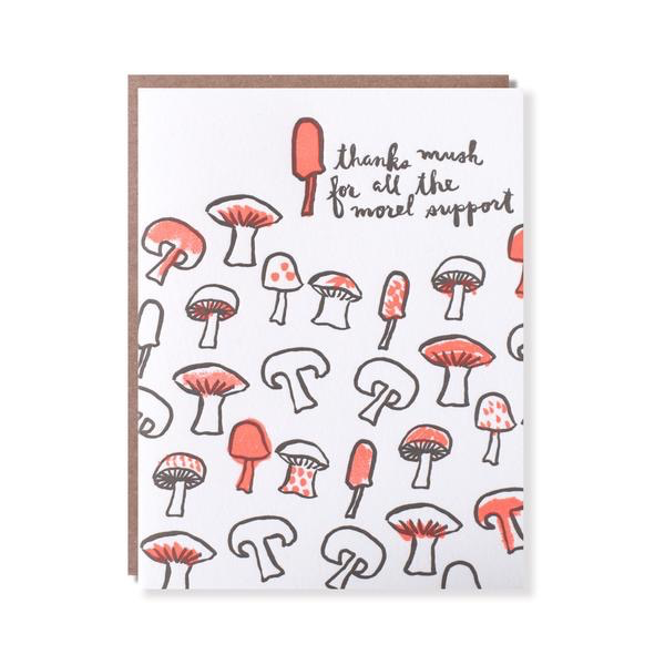Morel Support Thank You Card