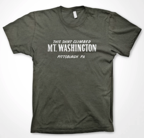 This Shirt Climbed Mt. Washington T-Shirt