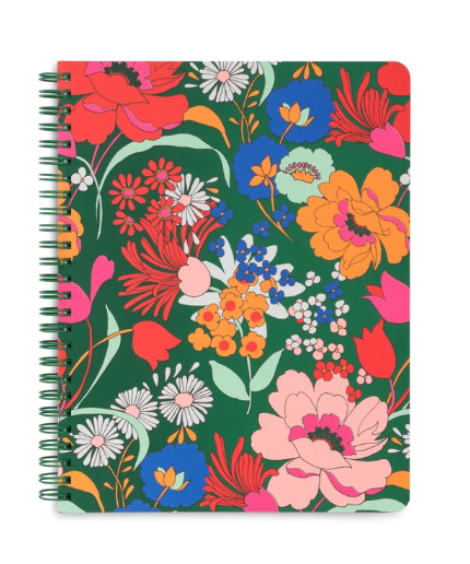 Emerald Super Bloom Notebook