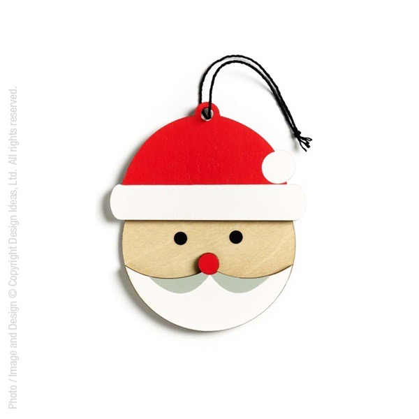 HollyJolly Ornament-Santa