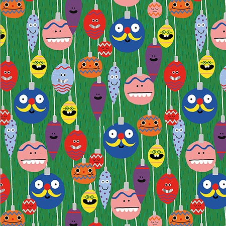 Hoot Parade Bauble Wrap Paper Sheet (pick up only)