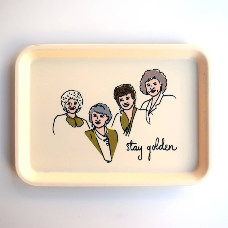 Stay Golden Catch-All Tray