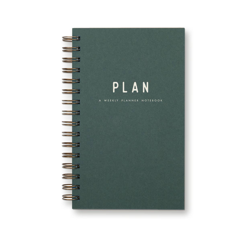 Simple Plan Undated Weekly Planner