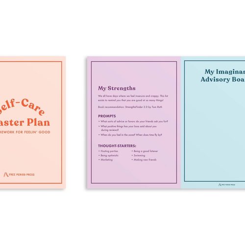 Self Care Master Plan Book