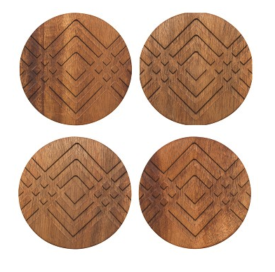 Facet Geo Coaster Set