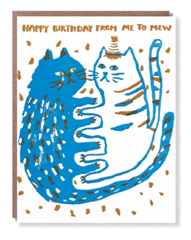 Happy Birthday from Me to Mew Card