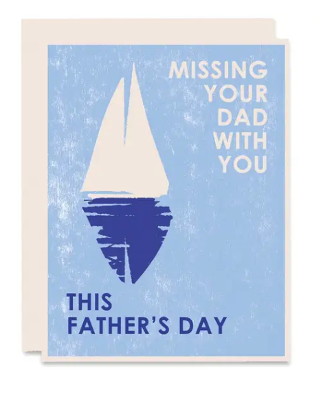 Missing Your Dad Father's Day Card