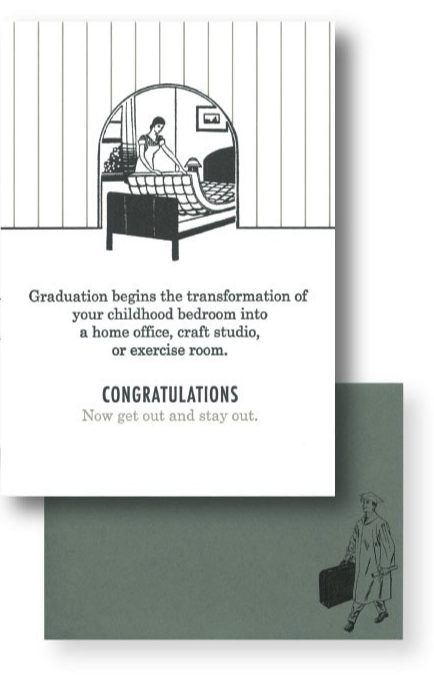 Now Get Out Graduation Card